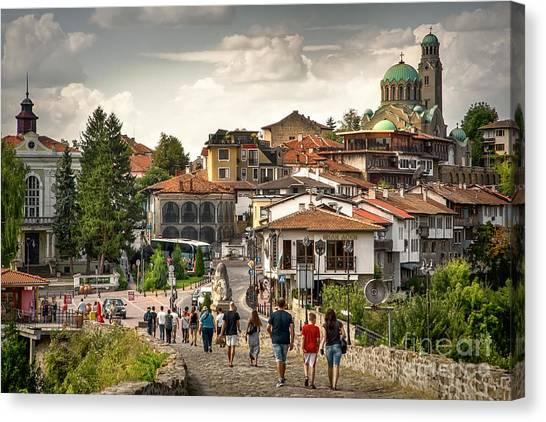 City - Veliko Tarnovo Bulgaria Europe Canvas Print