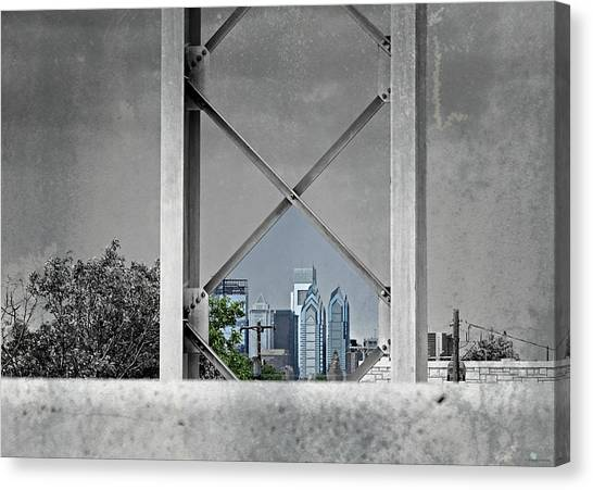 City View Canvas Print