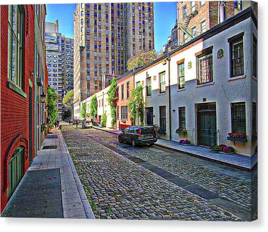 New York University Canvas Print - City Village by Sean Dorazio