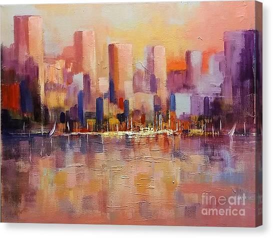 Cityscape 2 Canvas Print
