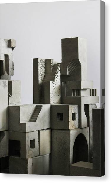 Cityscape 4 Canvas Print by David Umemoto