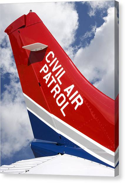 Civil Air Patrol Aircraft Canvas Print