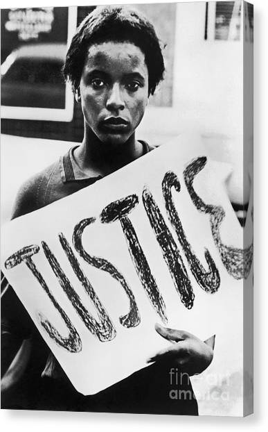 Rights Canvas Print - Civil Rights, 1961 by Granger