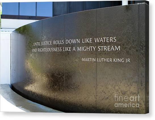Civil Rights Memorial Canvas Print