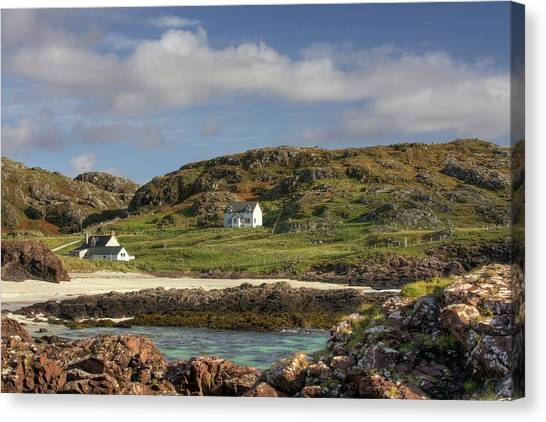 Clachtoll Beach Canvas Print