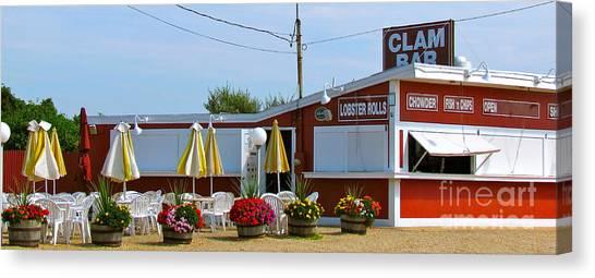 Clam Bar Canvas Print
