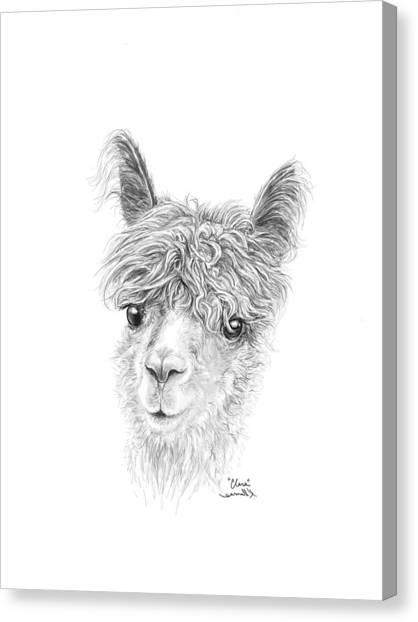 Canvas Print - Clara by K Llamas