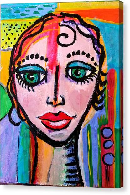 Clarissa - Vivid Vixen 3 Canvas Print