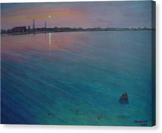 Clark Cove Canvas Print by Ron Sylvia