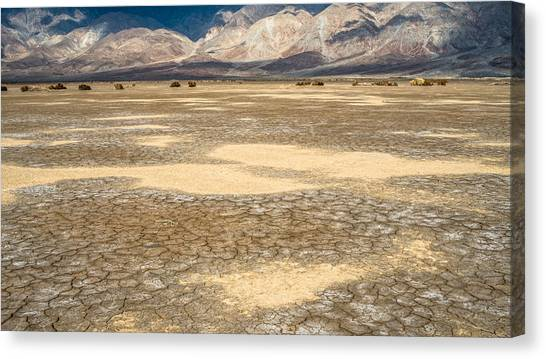 Clark Dry Lake Canvas Print