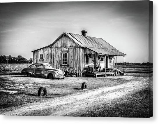 Clarksdale, Ms Canvas Print by EG Kight