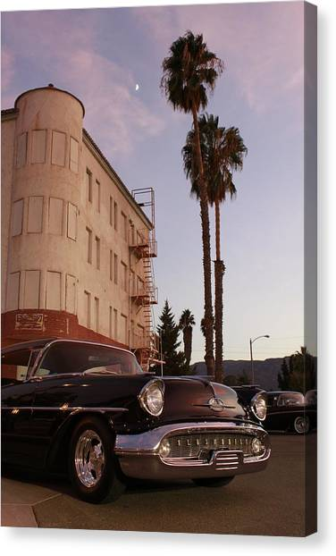 Classic At Sunset Canvas Print by Lawrence Costales