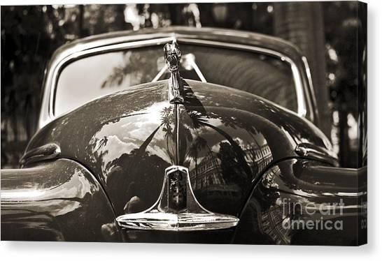 Classic Car Detail - Dodge 1948 Canvas Print