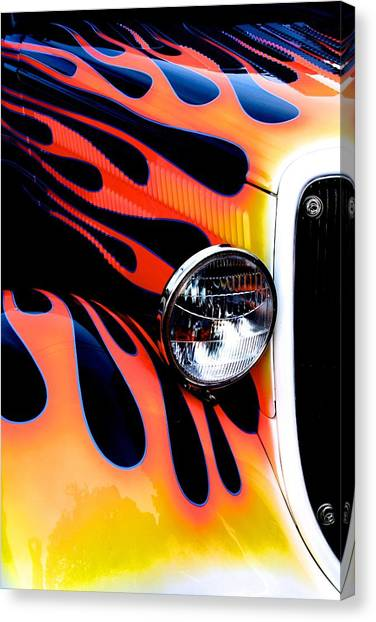 Classic Car Paint Upgrade Canvas Print