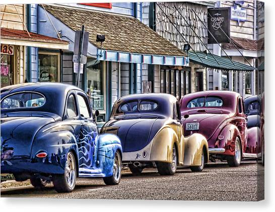 Classic Car Show Canvas Print
