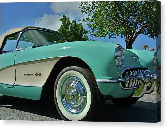 Classic Corvette Canvas Print