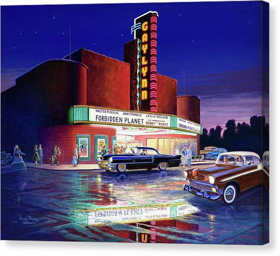 Classic Debut -  The Gaylynn Theatre Canvas Print