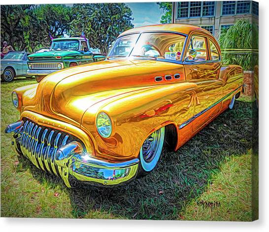 Classic Fifties Buick - Cruising The Coast Canvas Print