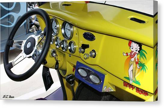 Classic Ford Canvas Print by Dennis Stein