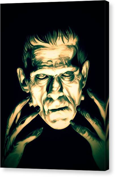 Classic Frankenstein Canvas Print