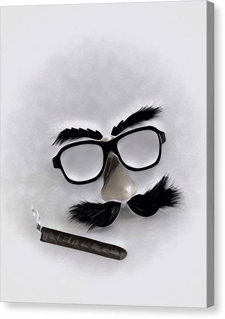 Classic Groucho Canvas Print