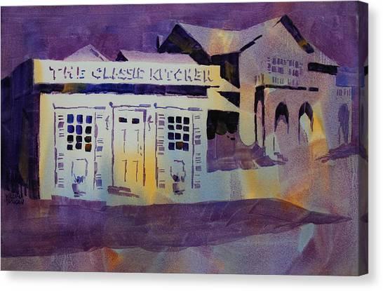 Classic Kitchen Canvas Print