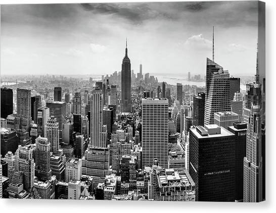 New York Skyline Canvas Print - Classic New York  by Az Jackson