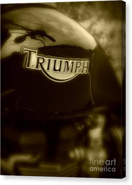 Classic Old Triumph Canvas Print