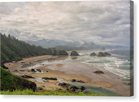 Classic Oregon Coast Canvas Print