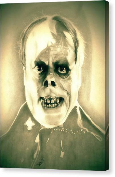 Classic Phantom Of The Opera Canvas Print