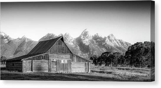 Jackson Hole Canvas Print - Classic Wyoming by Peter Irwindale