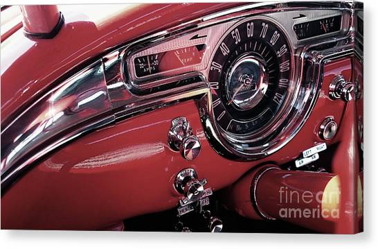 Classics Dashboard Canvas Print