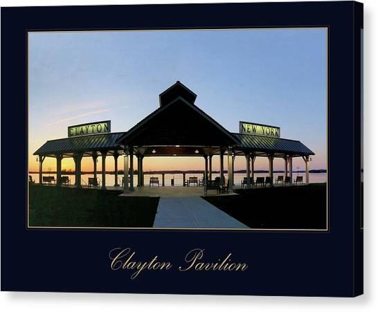Clayton Pavilion Canvas Print