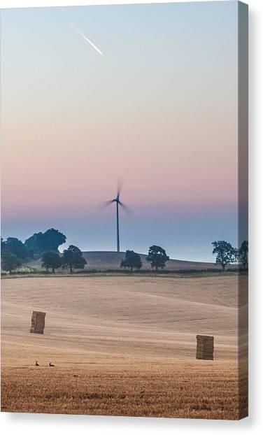 Nottinghamshire Canvas Print - Clean Energy by Chris Dale