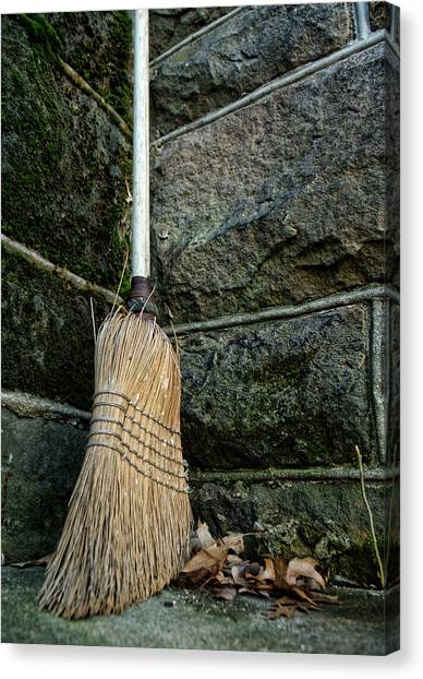 Clean Sweep Canvas Print