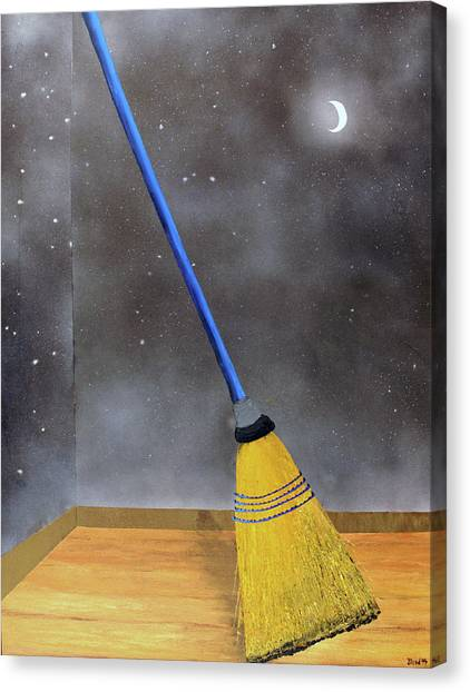 Cleaning Out The Universe Canvas Print
