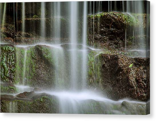 Waterfalls Canvas Print - Cleanse Me by Az Jackson