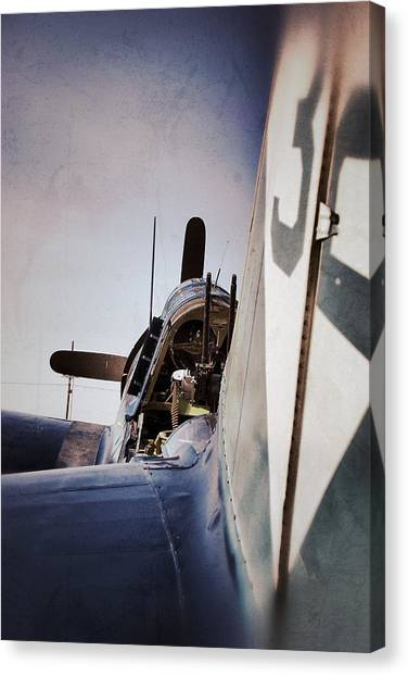 Prop Planes Canvas Print - Clear For Take Off by Pair of Spades