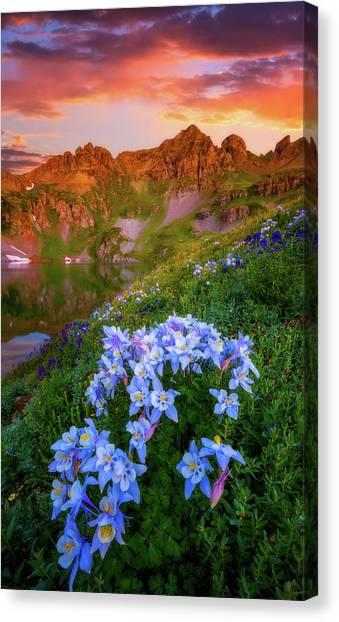 Lake Sunrises Canvas Print - Clear Lake Summer by Darren White