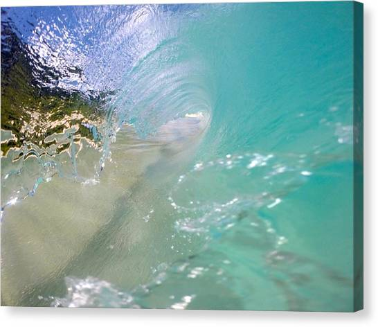 Bodyboard Canvas Print - Clear Vision by Benen  Weir