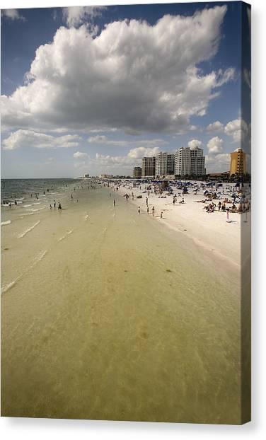 Clear Water Beach II Canvas Print by Patrick Ziegler