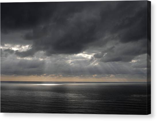 Clearing Storm Canvas Print