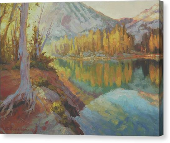 Mountain West Canvas Print - Clearwater Revival by Steve Henderson