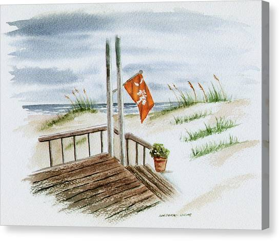 University Of South Carolina Canvas Print - Clemson Summer by Anna Barnwell-Williams