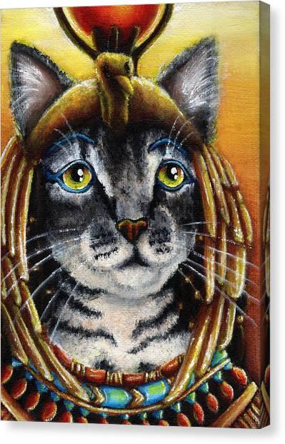 Egyptian Maus Canvas Print - Cleocatra by Tara Fly