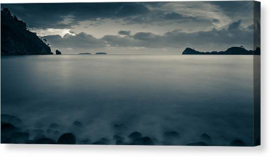 Cleopatra Bay Turkey Canvas Print