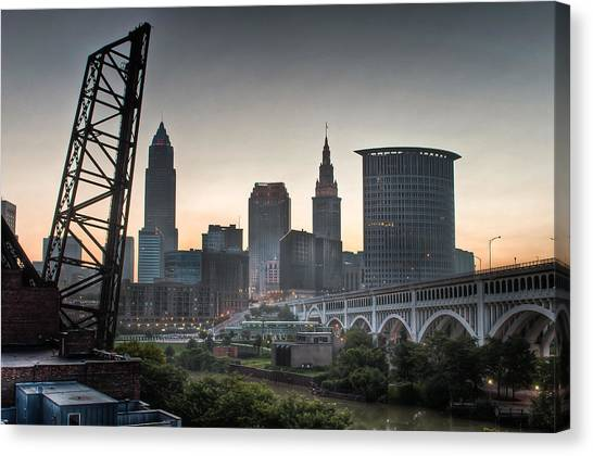 Cleveland Awakens Canvas Print