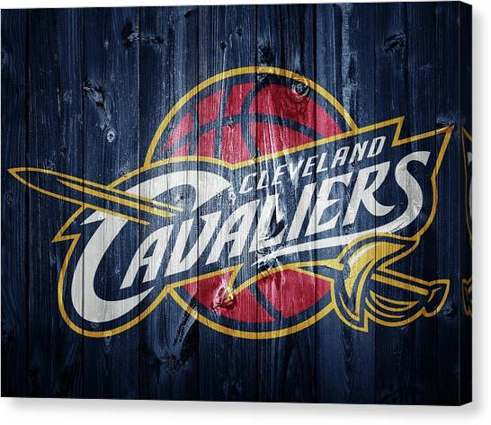 Kyrie Irving Canvas Print - Cleveland Cavaliers Barn Door by Dan Sproul