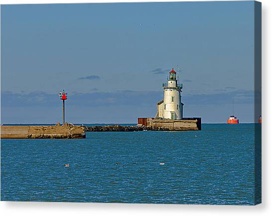 Cleveland Lighthouse Canvas Print