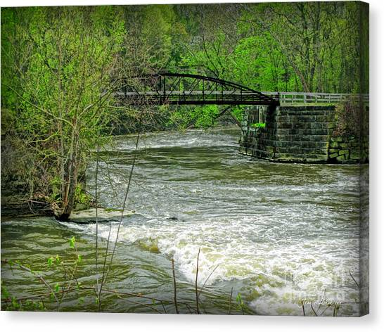Cleveland Metropark Bridge Canvas Print